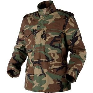 Helikon Genuine M65 Jacket Woodland