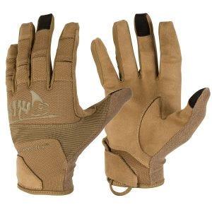 Helikon Range Tactical Hard Gloves Coyote/Adaptive Green