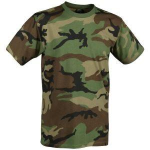 Helikon T-shirt US Woodland