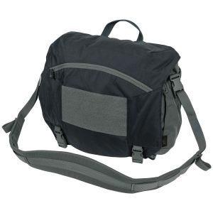 Helikon Urban Courier Bag Large Black / Shadow Grey