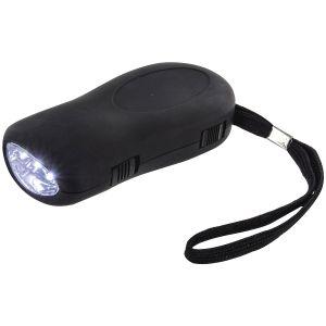 Highlander 3 LED Dynamo Torch Black