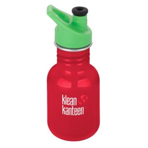 Kid Kanteen Sport 355ml Bottle with Sport Cap 3.0 Mineral Red