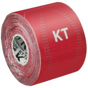 """KT Tape Consumer Synthetic Pro Precut 10"""" Rage Red"""