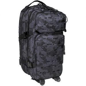 MFH Backpack Assault I Laser Night Camo