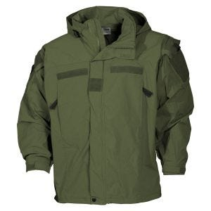 MFH US Soft Shell Jacket Level 5 OD Green