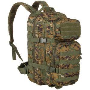 Mil-Tec MOLLE US Assault Pack Small Digital Woodland