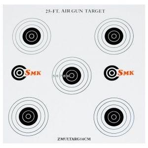 SMK 25ft 14cm Card Targets (100 Pack)