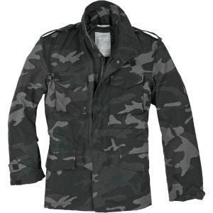 Surplus US Field Jacket M65 Black Camo