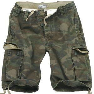 Surplus Vintage Shorts Washed Woodland