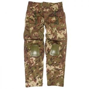 Mil-Tec Warrior Trousers with Knee Pads Vegetato Woodland