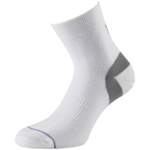1000 Mile Ultimate Tactel Anklet Sock White