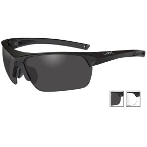 Wiley X Guard Advanced - Smoke Grey + Clear Lenses / Matte Black Frame