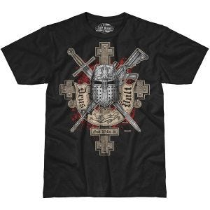 7.62 Design Deus Vult T-Shirt Black