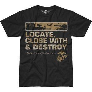 7.62 Design USMC Locate Battlespace T-Shirt Black