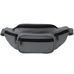 Brandit Waist Bag Anthracite / Black