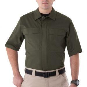 First Tactical Men's V2 Short Sleeve BDU Shirt OD Green
