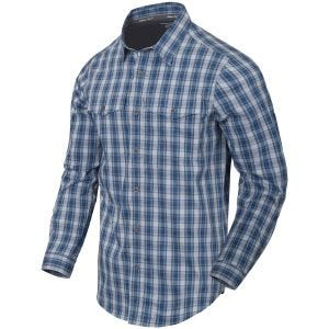 Helikon Covert Concealed Carry Shirt Ozark Blue Plaid