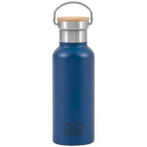 Highlander 500ml Campsite Bottle Blue
