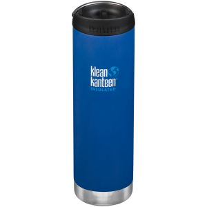 Klean Kanteen TKWide 591ml Insulated Bottle Cafe Cap Deep Surf