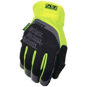 Mechanix Wear Fastfit Hi-Viz E5 Gloves Fluorescent Yellow