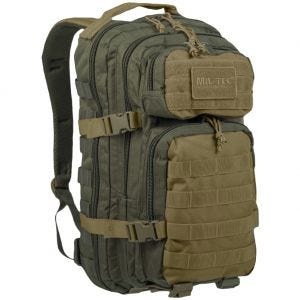 Mil-Tec US Assault Pack Small Ranger Green/Coyote
