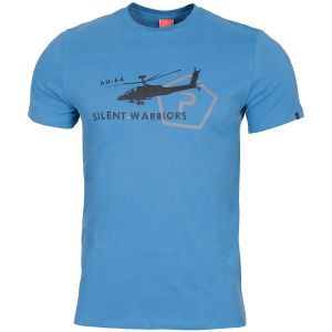 Pentagon Ageron Helicopter T-Shirt Pacific Blue