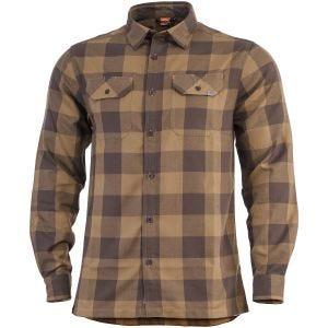 Pentagon Drifter Flannel Shirt Long Sleeve TB Checks