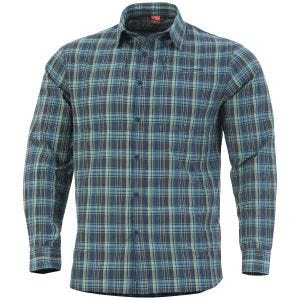 Pentagon QT Tactical Shirt Blue Checks