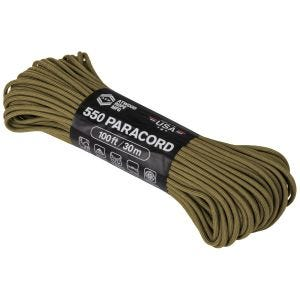 Atwood Rope 100ft 550 Paracord Coyote