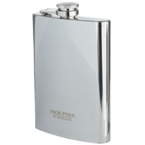 Jack Pyke Stainless Hip Flask 8oz