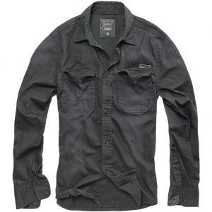 Brandit Hardee Denim Shirt Black