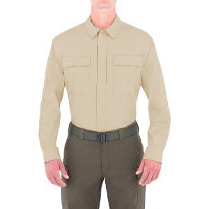 First Tactical Men's Tactix Long Sleeve BDU Shirt Khaki