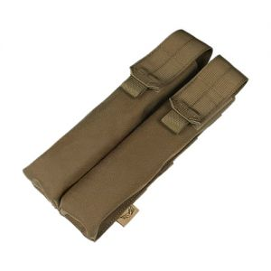 Flyye Double P90/UMP Magazine Pouch MOLLE Coyote Brown