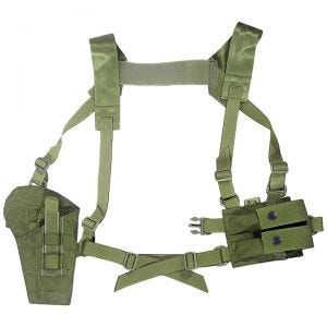 Flyye Shoulder Holster System Panel MOLLE Olive Drab