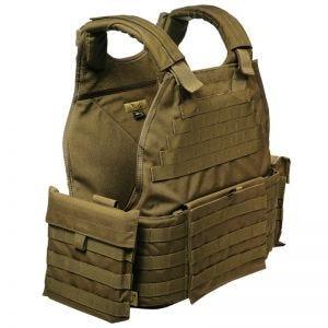 Flyye MOLLE SPC Armour Vest Coyote Brown
