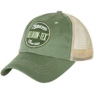 Helikon Trucker Logo Cap Green