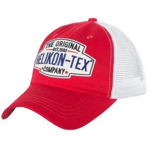 Helikon Trucker Logo Cap Red