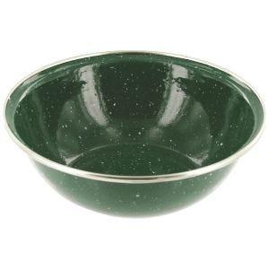 Highlander Deluxe Enamel Bowl Green