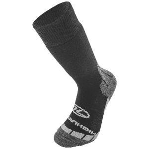 Highlander Base Wool Sock Black / Grey