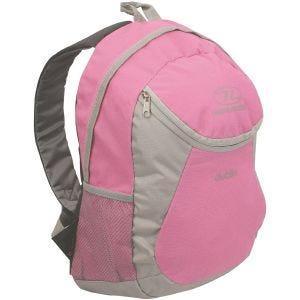Highlander Dublin Backpack Pink Grey
