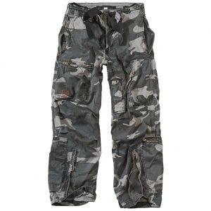 Surplus Infantry Cargo Trousers Night Camo