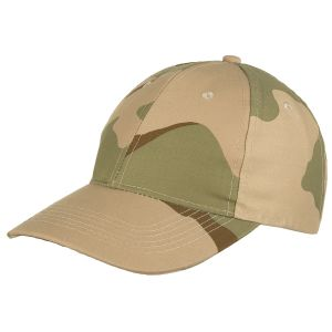 MFH Baseball Cap 3-Colour Desert