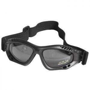 Mil-Tec Commando Goggles Air Pro Smoke Lens Black Frame