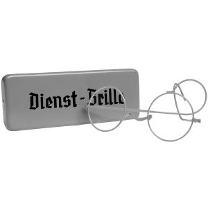 Mil-Tec Dienst-Brille with Metal Case