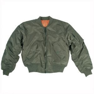 Mil-Tec MA-1 Flight Jacket Olive