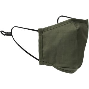 Mil-Tec Mouth/Nose Cover Square Shape Ripstop Olive