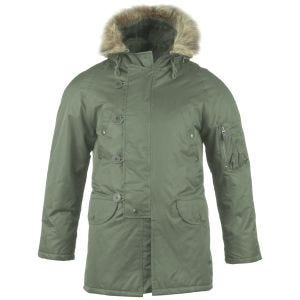 Mil-Tec N-3B Flight Jacket Olive