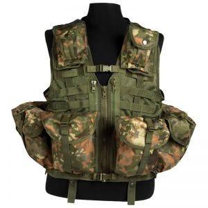 Mil-Tec Tactical Vest Modular System Flecktarn