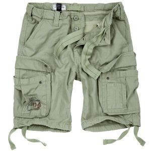 Surplus Airborne Vintage Shorts Light Olive