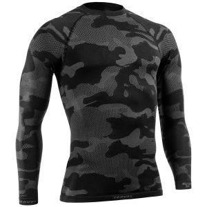 Tervel Optiline Light Tactical Shirt Long Sleeve Black/Grey